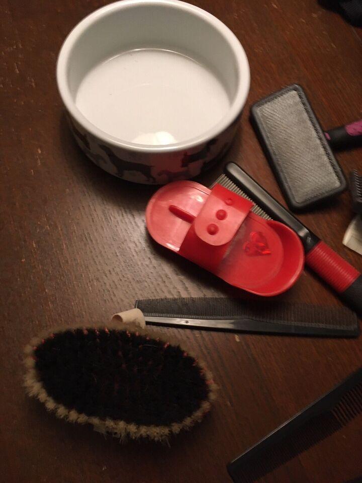 Andet, Halsbånd, børster