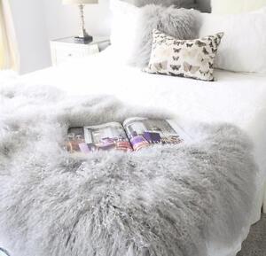 Entertainment Memorabilia Natural Genuine Color Rabbit Fur Skin Pelt Rug Blanket For Home Textile Like Chairs Soft And Light