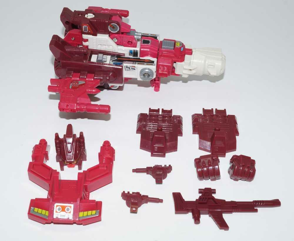 Scattershot Computron MINT 100% Complete 1987 G1 Transformers Action Figure