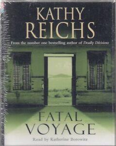 Fatal-Voyage-Kathy-Reichs-4-Cassette-Audio-Book-NEW-Abridged-Temperance-Brennan