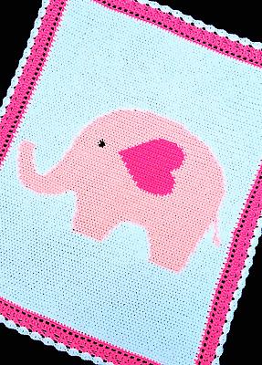 Crochet Elephant Pattern - thefriendlyredfox.com | 400x287