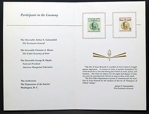 USA-Champion-of-Liberty-Stamp-Ceremony-FDC-Lajos-Kossuth-FDC-I-3170