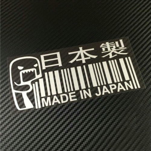 MADE IN JAPAN Funny Car Sticker //Window//Bumper JDM DRIFT Barcode Vinyl Decal 1PC