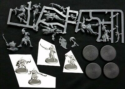 3 Tzaangor Disciples of Tzeentch Silver Tower Warhammer Quest Age Sigmar
