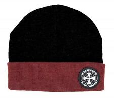 CAMION CO INDEPENDENT ITC Beanie Nero/Rosso