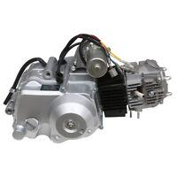 Lifan 125cc Semi-auto Clutch Engine Motor Pit Pro Trail Dirt Bike Atomik Silver