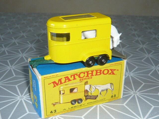PONY TRAILER N'43 MATCHBOX MATCHBOX MATCHBOX EN BOITE 330879