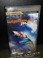 Wipeout Pure (sony Psp) Playstation Portable, Brand