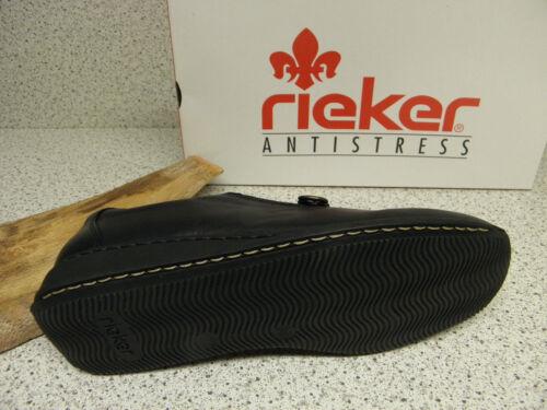 rieker ® reduziert R1 schwarz gratis Premium 44360-00 Socken Top Preis
