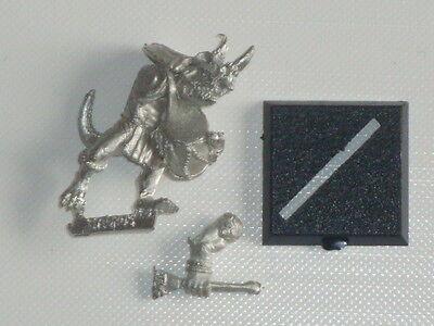 Lizardmen Saurus Temple Guard Drummer - 1996 *Warhammer* Games Workshop