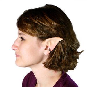 Image is loading Moon-Elf-Ears-Costume-Latex-Prosthetic-Painted-Light  sc 1 st  eBay & Moon Elf Ears Costume - Latex Prosthetic Painted Light | eBay