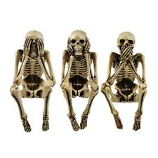 3 WISE SKELETONS, NEMESIS NOW, SEE NO EVIL, HEAR NO EVIL, SPEAK NO EVIL, NEM4341
