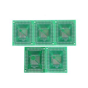 5pcs-QFP-TQFP-LQFP-FQFP-32-44-64-80-100-to-DIP-Adapter-PCB-Board-Converter-MA