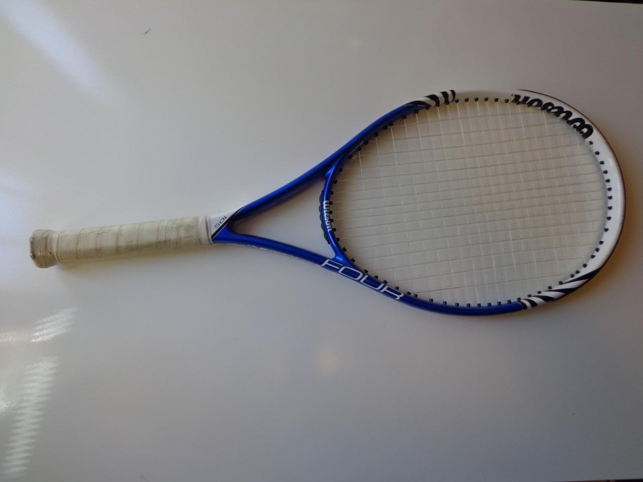 Wilson Blx 4 105 cabeza 4 1 4 Grip Tenis Raqueta