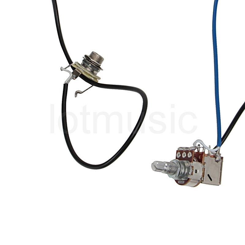 electric guitar wiring harness kit 2v2t pot jack 3 way forguitar parts ebay. Black Bedroom Furniture Sets. Home Design Ideas