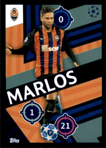 Topps Champions League 18//19 Sticker 424 Marlos