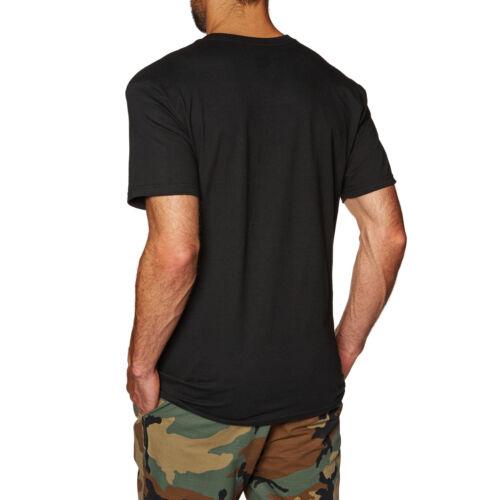 Huf Essentials Og Logo Mens T-shirt Black All Sizes