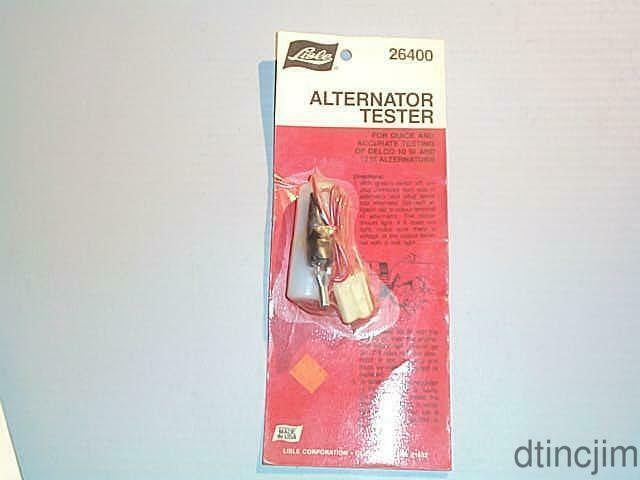 Lisle 26400 Alternator Tester