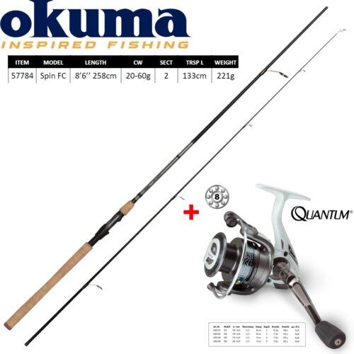 Set Okuma ALARIS Pike Quantum Trax 40