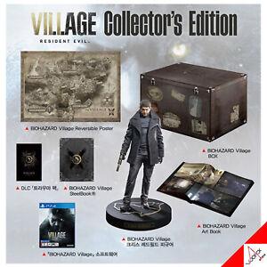 PS4 Biohazard Village Collector's Edition Set Resident Evil PS5-Korean Ver