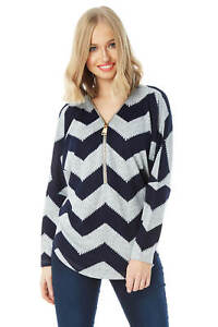 Roman-Originals-Zig-Zag-Zip-Front-Top