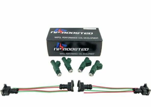 4 Pc 440cc 42lb EV1 Fuel Injectors for BMW 318is M3 Z3 Mitsubishi Eclipse RS GS