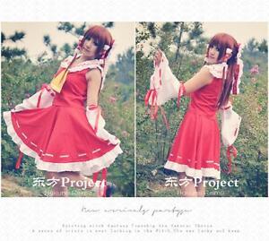 Touhou-Project-Hakurei-Reimu-Sorciere-kimono-robe-Cosplay-Costume-Ensembles