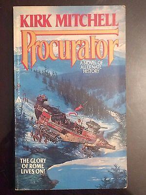 Kirk Mitchell Procurator Alternate History Novel Action Adventure Fantasy Thrill