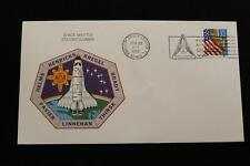 SPACE COVER 1996 SLOGAN CANCEL STS-78 SHUTTLE COLUMBIA LMS WITH INSERT (173)
