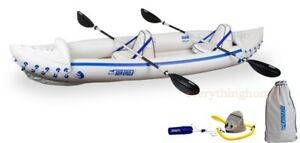 Sea-Eagle-370-Pro-Package-Inflatable-12-5-Ft-Kayak-New-Factory-Sealed-3-Yr-Wty