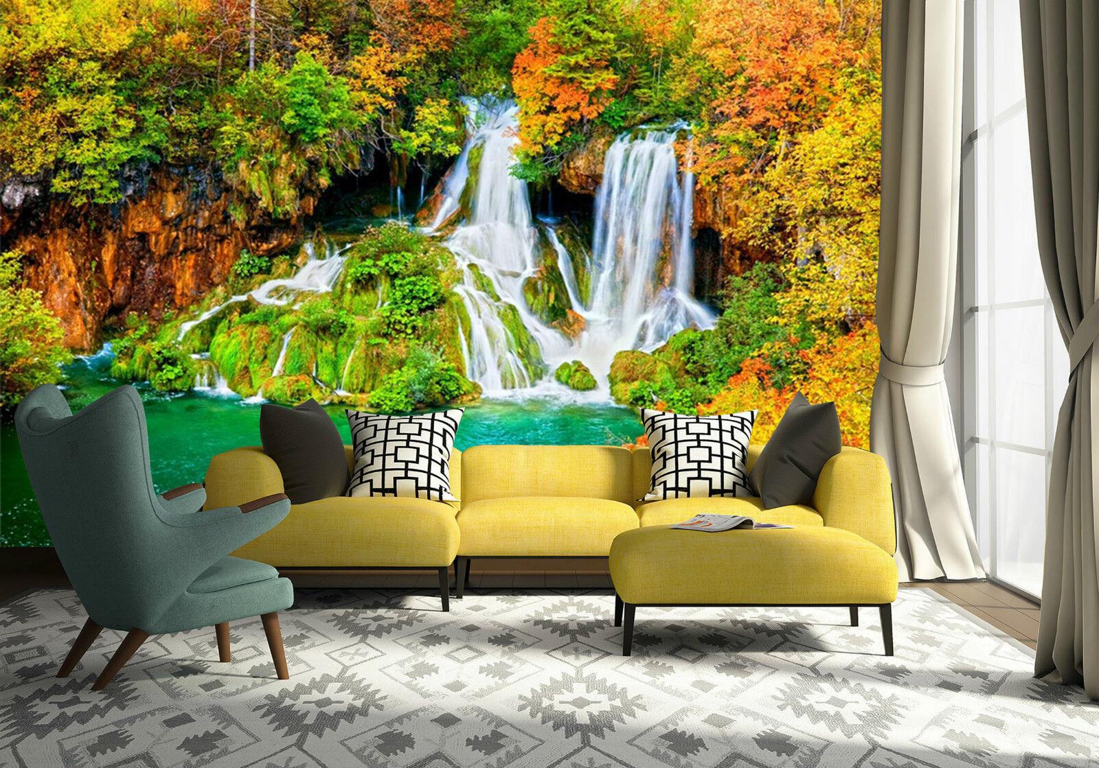3D Herbstes 6766 Fototapeten Wandbild Fototapete Bild Tapete Familie Kinder DE
