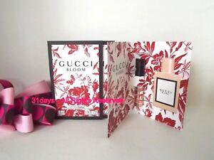 b26cd8a29 NEW 5 X Gucci Bloom Eau de Parfum Women Perfume Spray Sample .05 oz ...