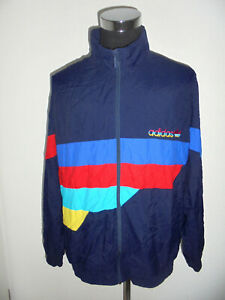 vintage-syria-80-s-ADIDAS-Jacke-Sportjacke-Trainingsjacke-tactel-oldschool-D9-XL