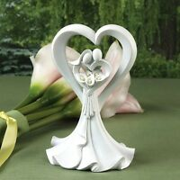 Wedding Cake Topper Country Flair Heart