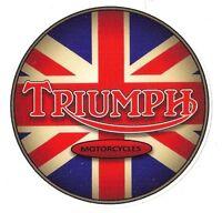 Sticker Triumph Moto °