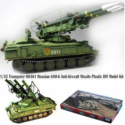 Trumpeter 00361 1:35 Russian SAM-6 Anti-Aircraft Missile Plastic Model Kit