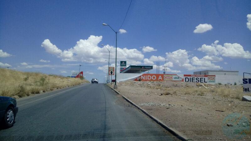 Terreno Venta Carr. Chihuahua - Juárez 1,650 x m2 Antper GL3