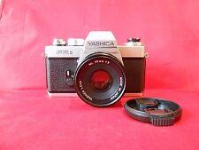 YASHICA FR2 Spiegelreflex Kamera, Objektiv Yashica Lens ML 2/50