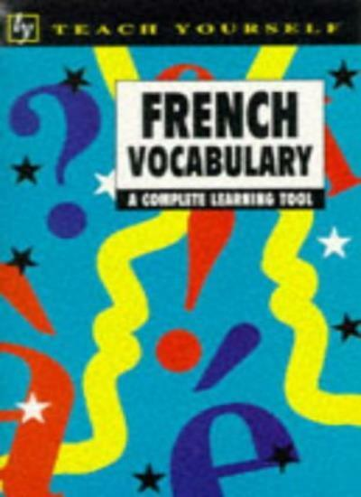 Teach Yourself French Vocabulary (TYL),Nelly Moysan