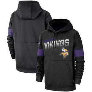 NFL-Minnesota-Vikings-Hoodies-Sweatshirts-100th-Anniversary-Pullover-Jacket-Coat