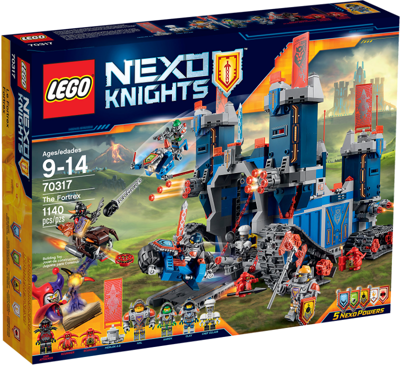 LEGO NEXO KNIGHTS 70317 The Fortrex Neu OVP