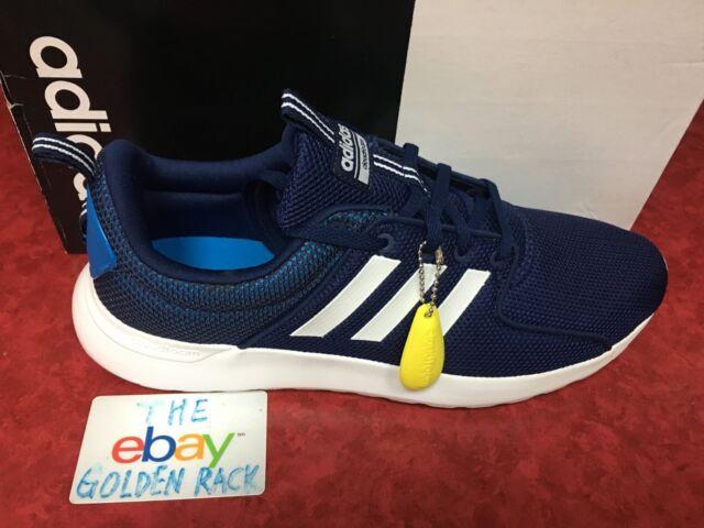 adidas CF Lite Racer Mens Training Running Shoes Blue White B42167 SZ 9 12 NIB