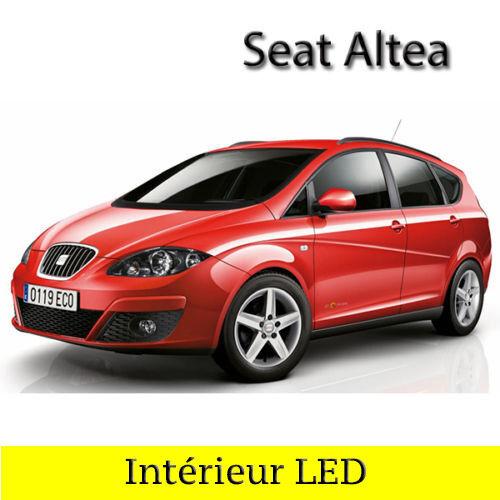 Kit lighting interior light bulbs LED White Cabin for Seat Altea | eBay