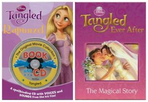 Details about Two Story From Tangled Rapunzel & Tangled Ever After