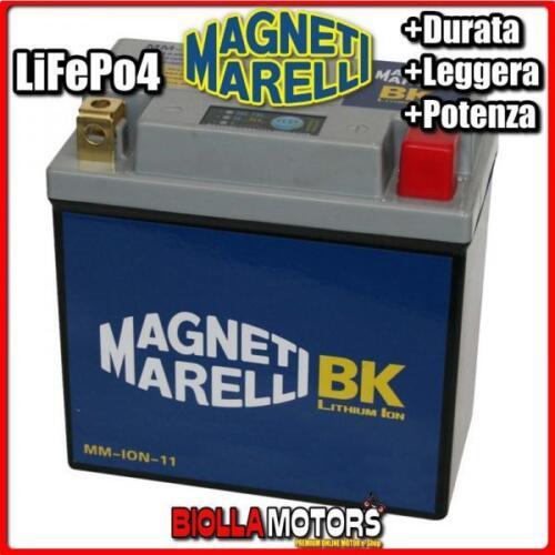 MM-ION-11 BATTERIA LITIO YB14L-A2 BMW C1 200 2000-/> MAGNETI MARELLI YB14LA2