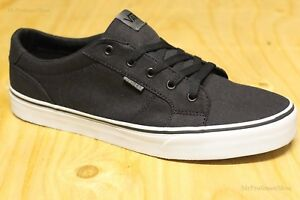 3623031907 Image is loading VANS-Bishop-Textile-Black-Glacier-Grey-Men-039-