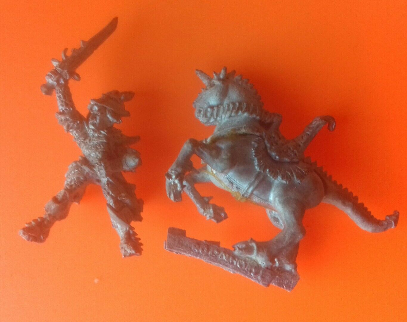 Citadel C13 Dark Elf General Command Hero Champion GW games workshop   mounted