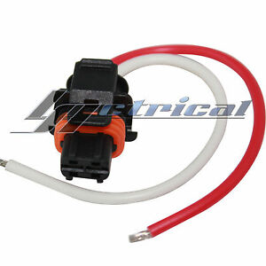 alternator repair plug 2 pin wire pigtail harness fits Blower Motor Throttle Position Sensor