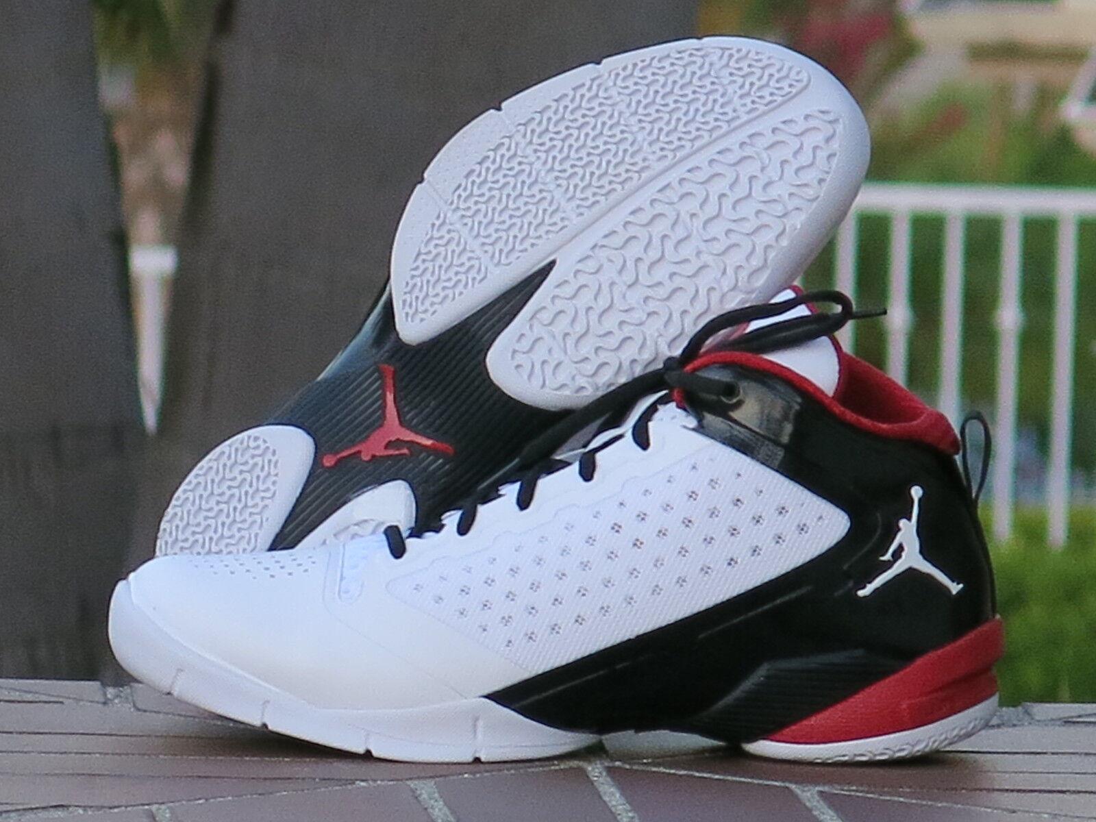 Nike Air Jordan Fly 2011 Dwayne Wade II White/Black/Red/Grey 479976
