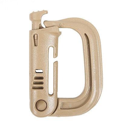 ITW MOLLE II Nexus Grimloc D-Ring Carabiner 2 Pack-Choose Your Color